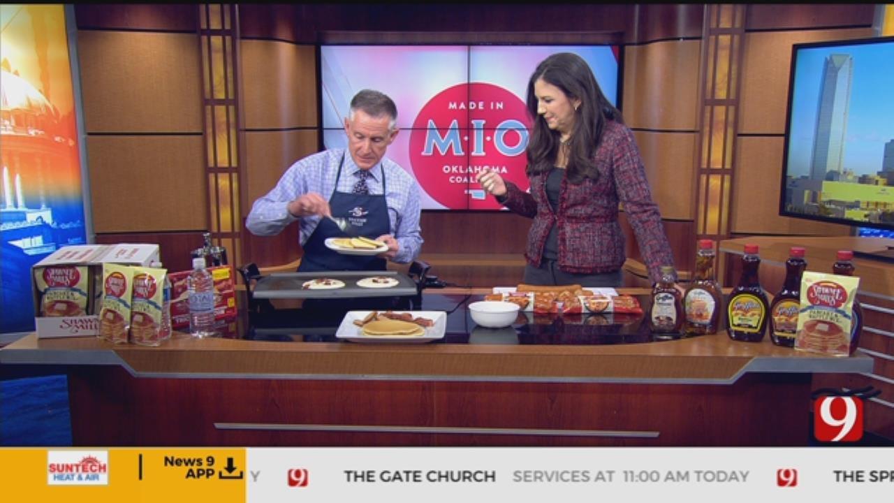 Made In Oklahoma: Bacon Pancakes
