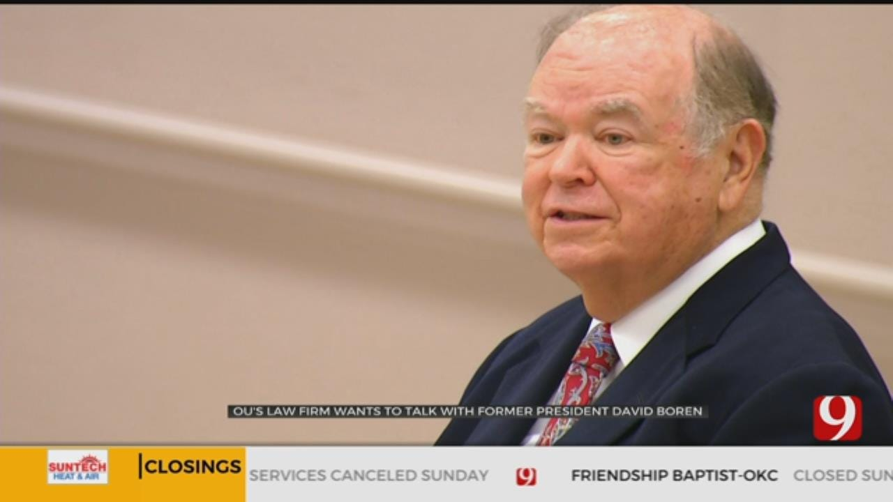 Boren's Attorney Says Former OU President Was Contacted Regarding Investigation