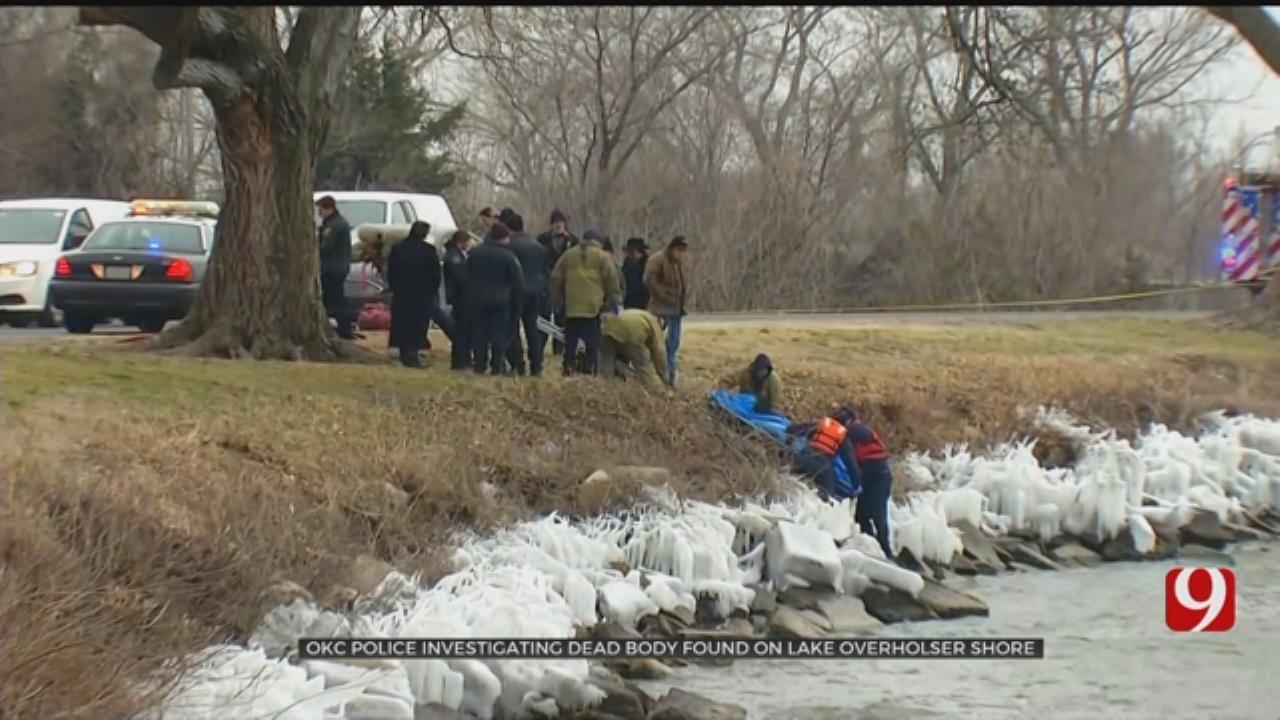 OCPD Investigating Body Found In Lake Overholser