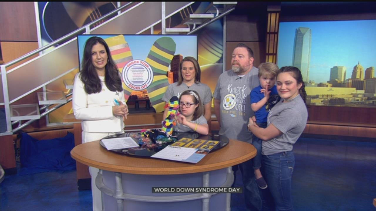 """Knock Your Socks Off"" On World Down Syndrome Day"
