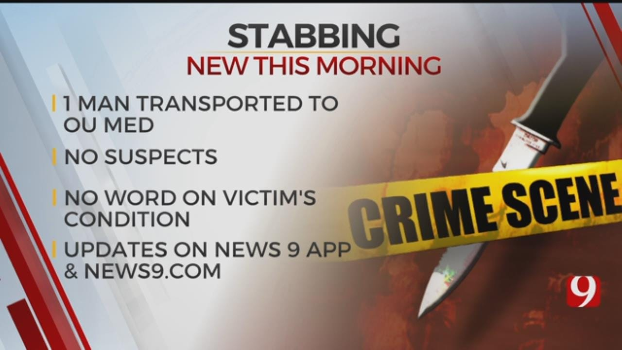 OKC Police Searching For Information On Early Morning Stabbing