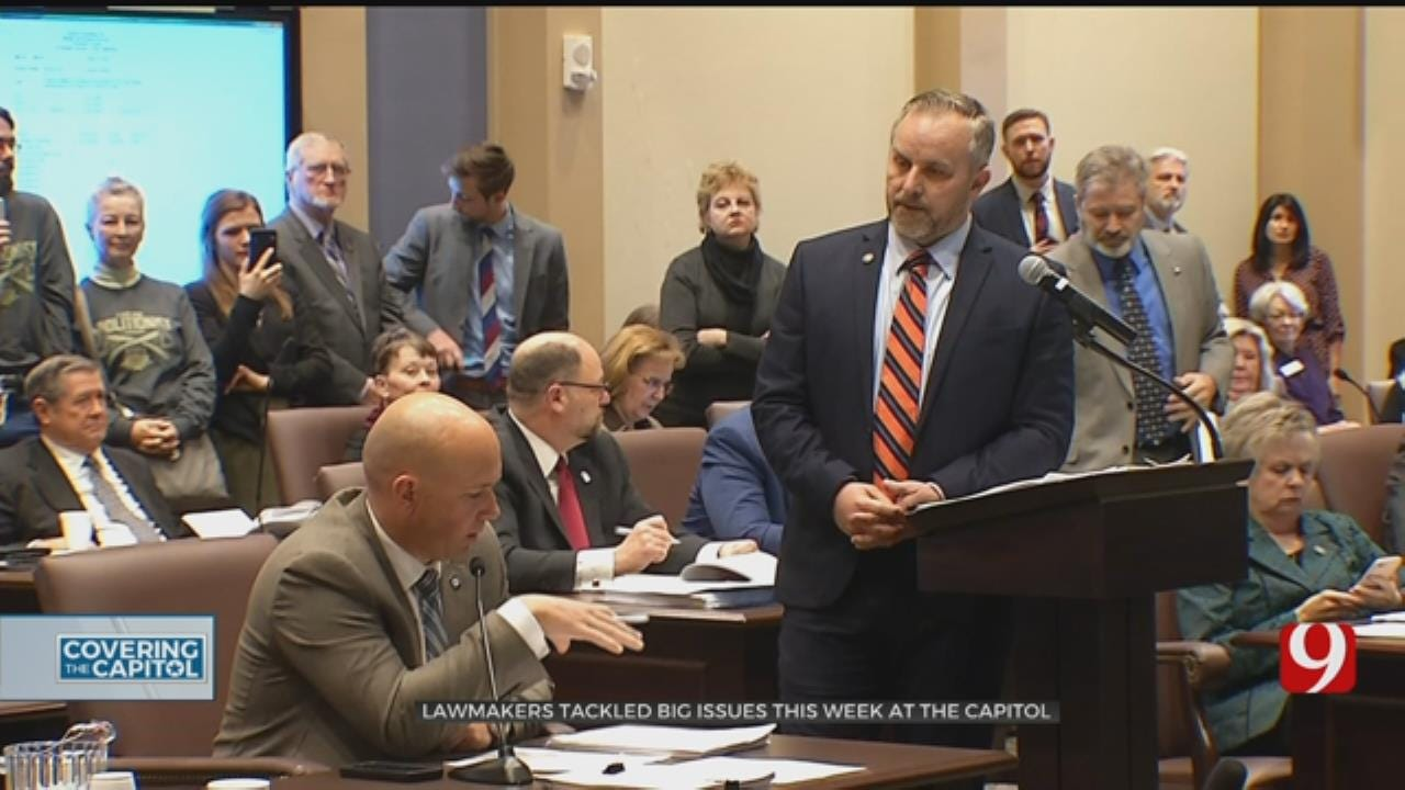 Capitol Week In Review: Lawmakers Tackle Controversial Issues