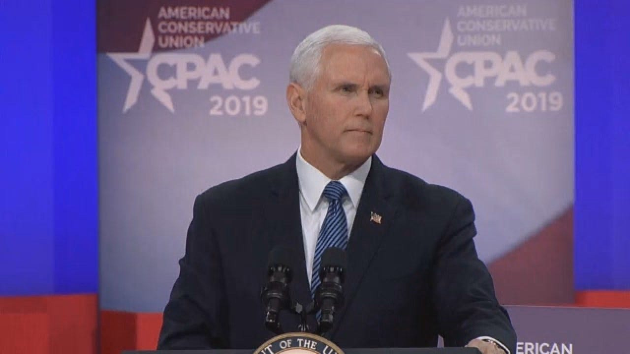 VP Pence: 'We're Going To Build A Wall'