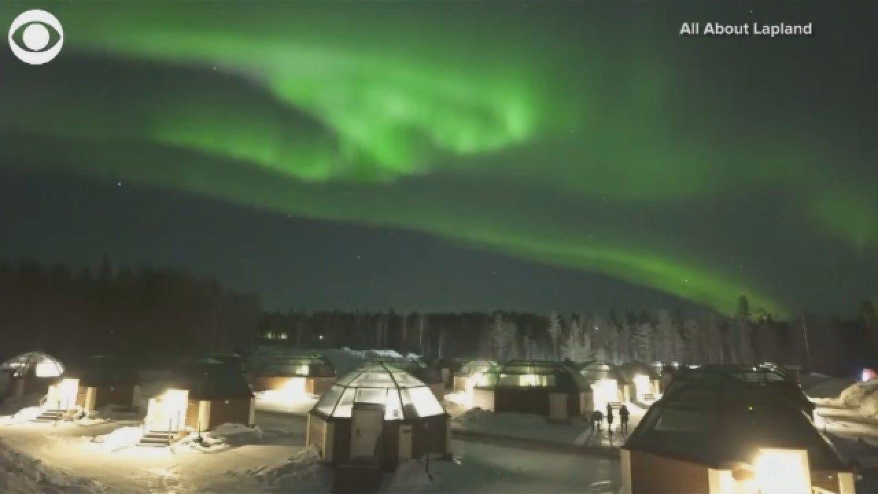 WATCH: The Northern Lights Dance Across Finnish Skies