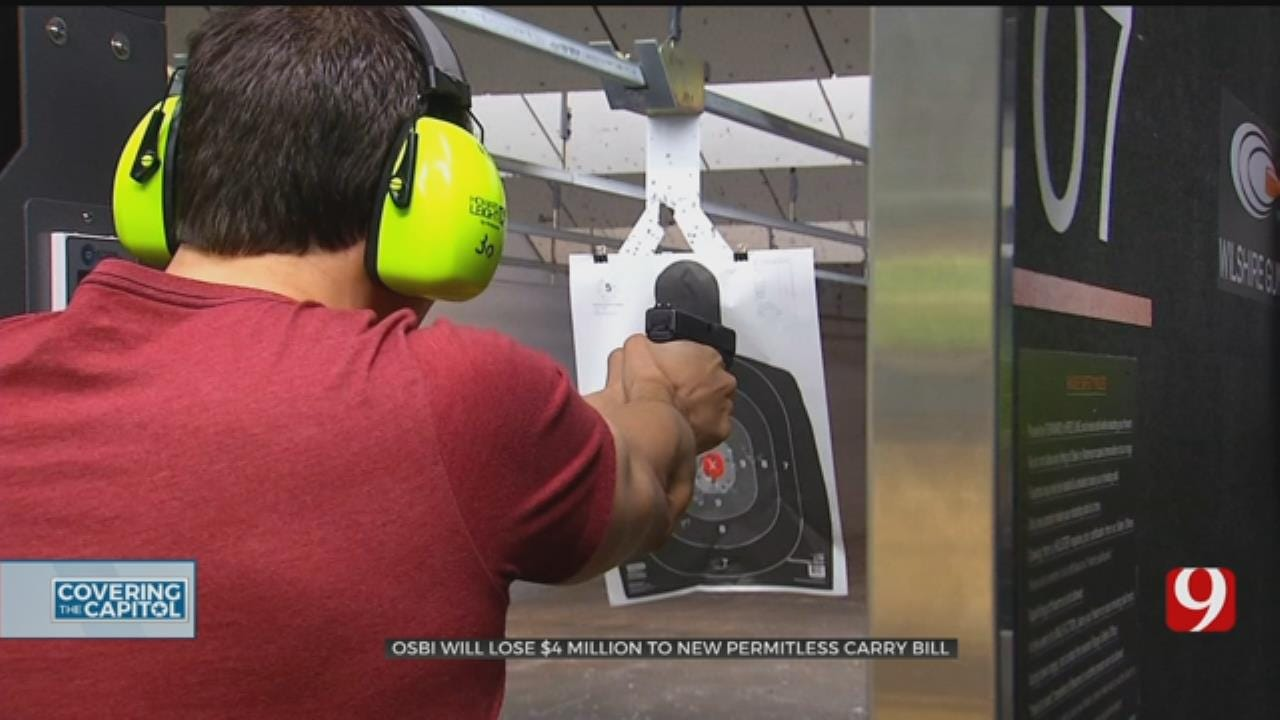 Permitless Carry Could Cost OSBI Millions