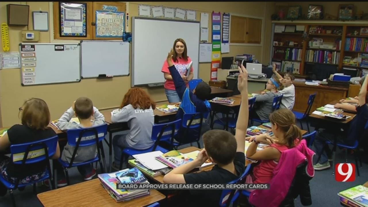 Rewards For Academic Growth A Focal Point In New Report Cards For Okla. Schools