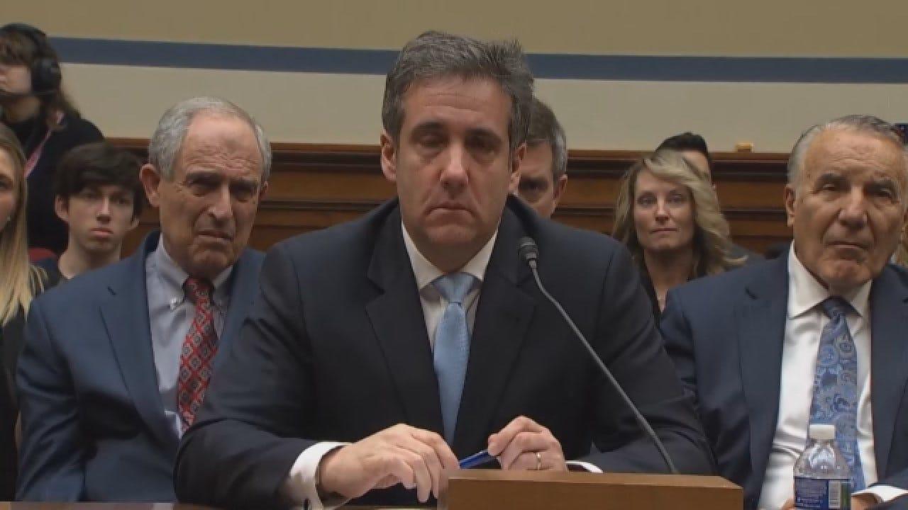 Former Trump Attorney Cohen Slams President As Liar During Public Hearing