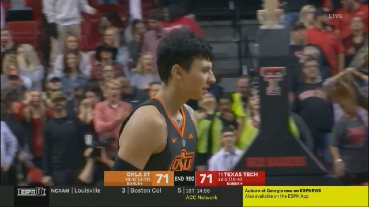 WATCH: OSU's Waters Sends Game To OT With Buzzer Beating 3-Pointer