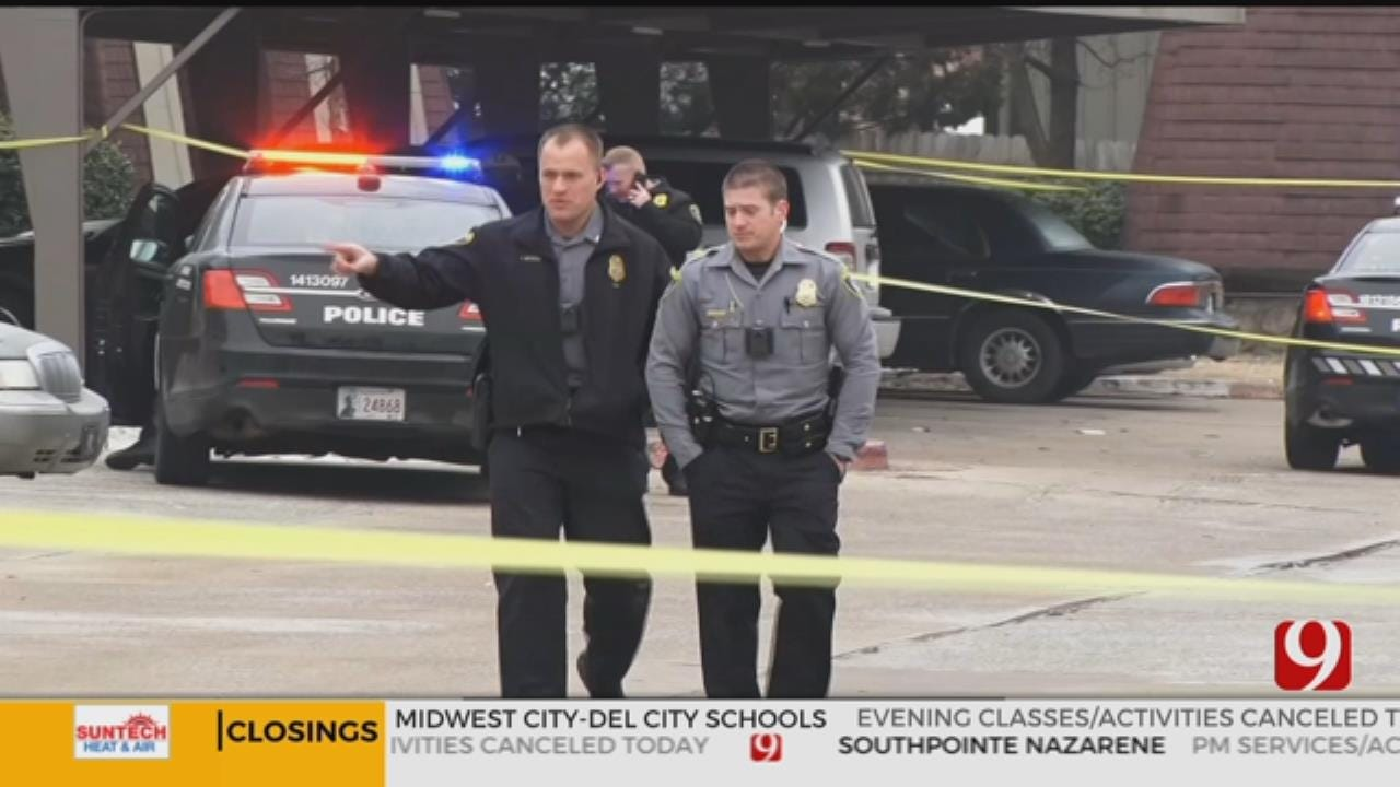 2 People Detained After Police Chase In Oklahoma City