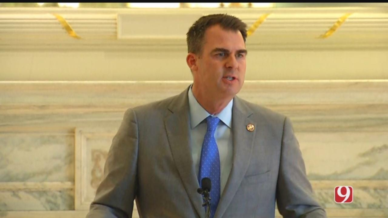 WATCH: Gov. Kevin Stitt Offers Details On Government Accountability Plan