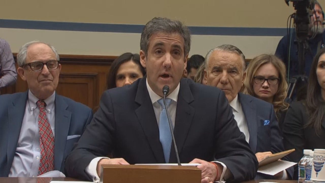 Former Trump Lawyer Michael Cohen Testifies Publicly To Congress