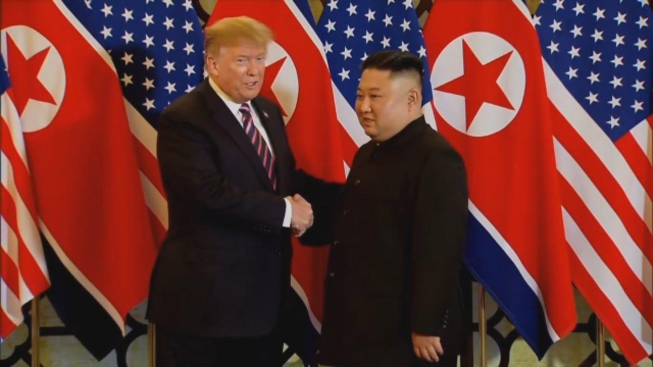 President Trump, NKorea's Kim Jong Un Meet For 2nd Summit