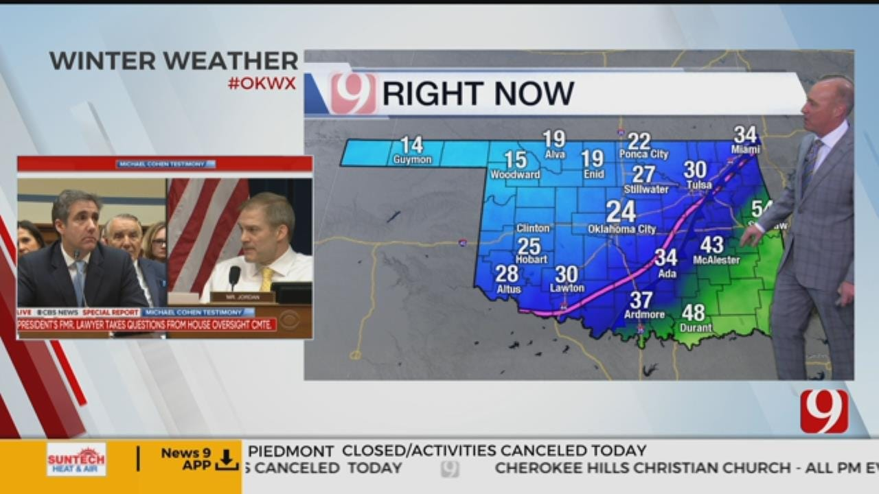 David Payne's 10:30 A.M. Winter Weather Update