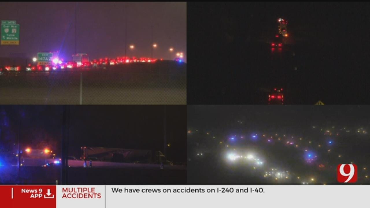 Traffic Alert: Multiple Accidents Reported On I-40, I-240