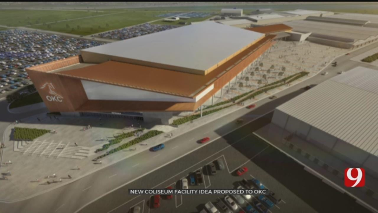 New Coliseum Facility For State Fair Park Proposed To OKC
