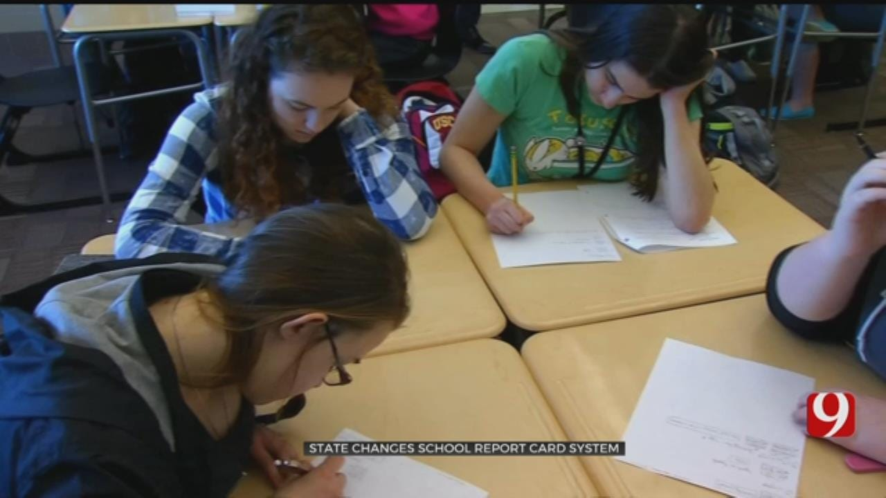 Oklahoma To Reveal New School Report Card System