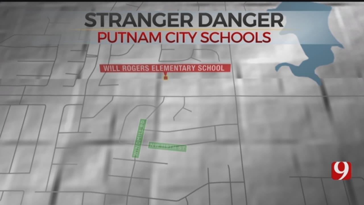 Putnam City Principal Warning Parents About Suspicious Man Near School