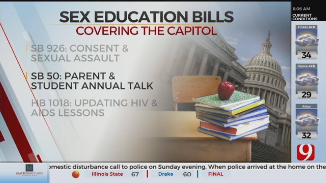 Trio Of Bills Aim To Modernize Okla. Sex Education