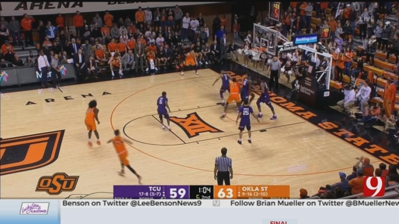 OSU Men's Basketball Falls To Kansas State On The Road