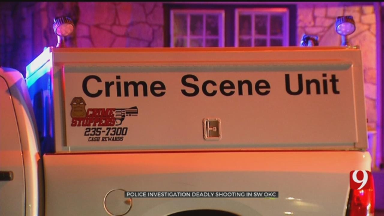 OKCPD Responding To Deadly Shooting In SW OKC