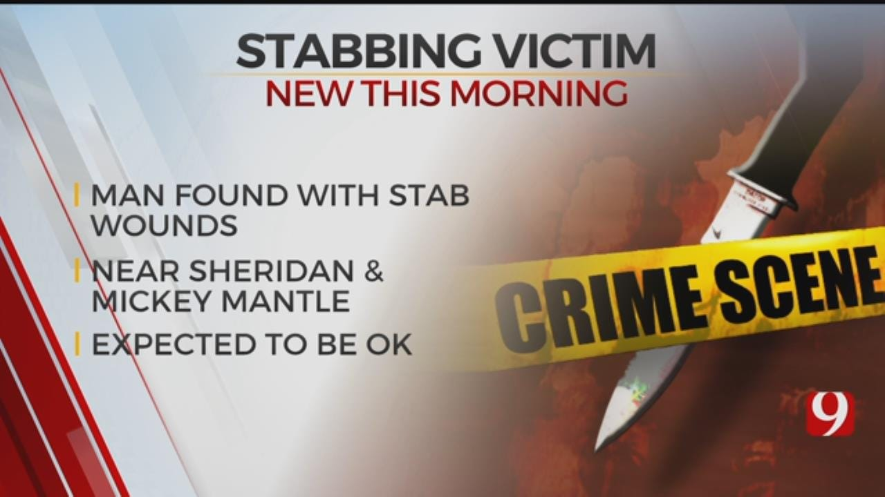 Stabbing Victim Found By OKC Police Expected To Survive