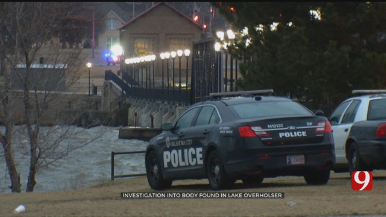 OKC Police Investigating After Body Found In Lake Overholser