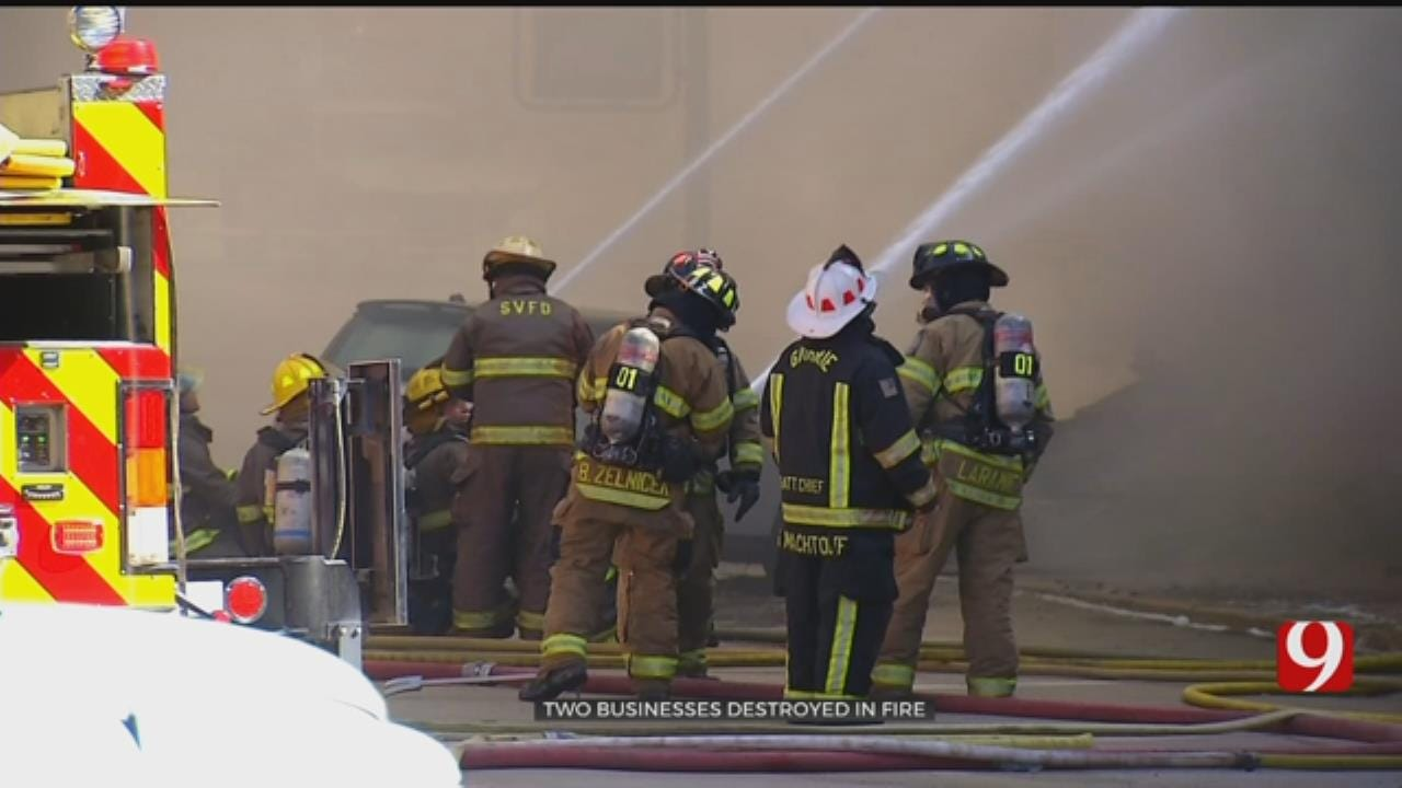 2 Businesses Lost In Downtown Guthrie Fire