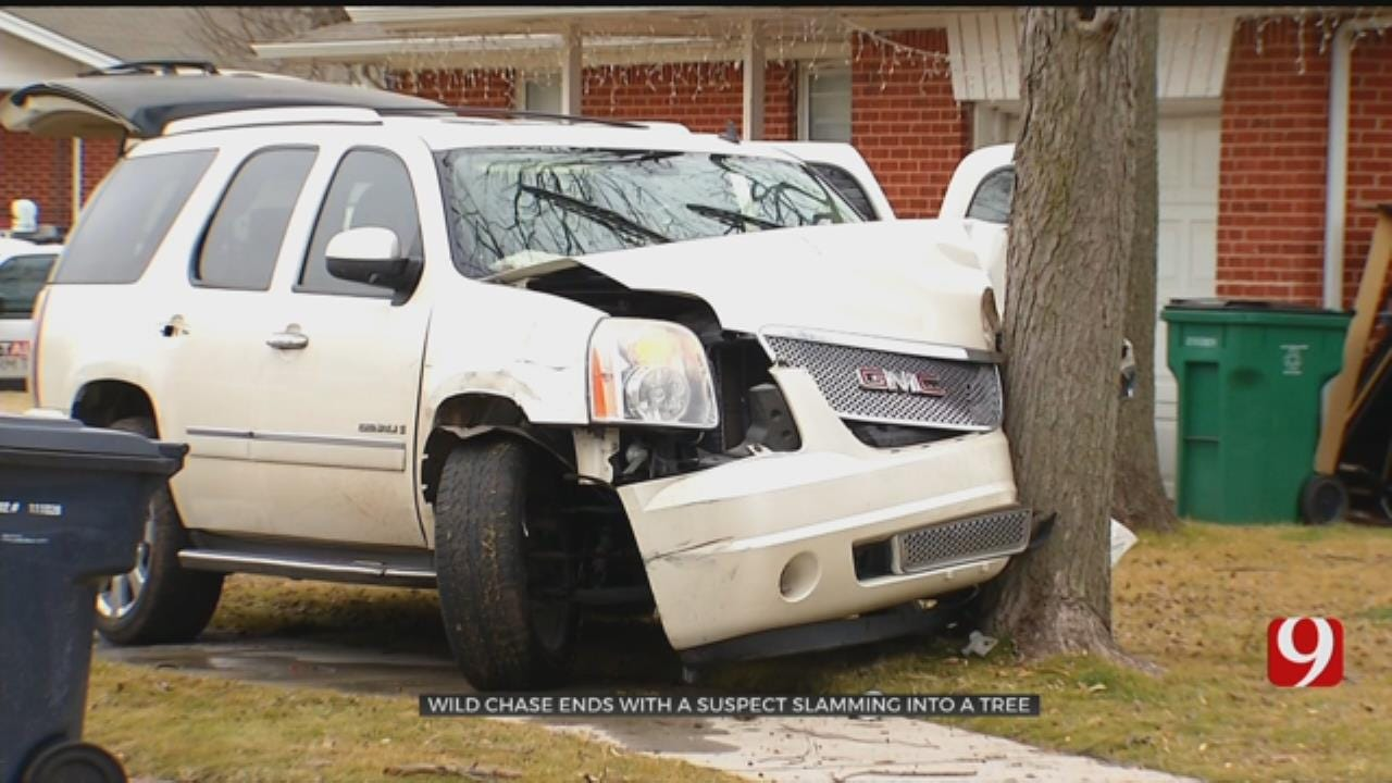 2 Arrested After Wild Chase In South OKC