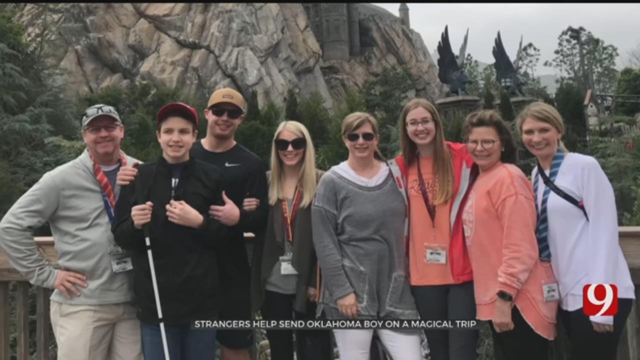 Strangers Help Send Okla. Boy On Magical Trip To Harry Potter World