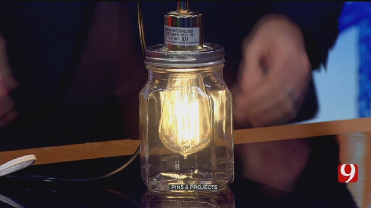 Pins & Projects: Mason Jar Pendant Lights