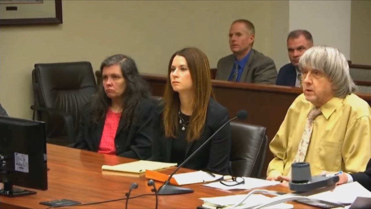Parents Of 13 Kids Plead Guilty To Torture, Abuse In 'House Of Horrors' Case