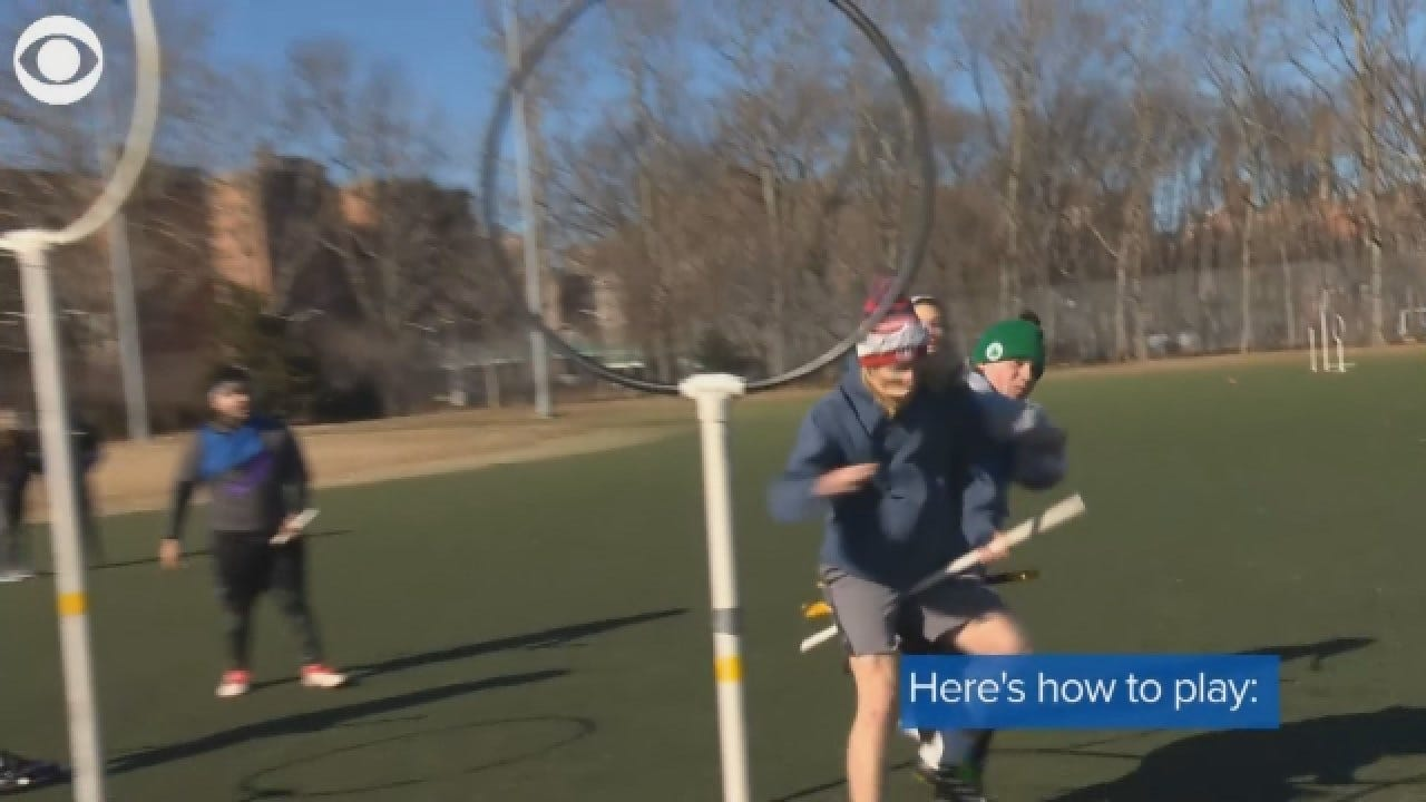 Americans Play The Game Quidditch, Inspired By The Harry Potter Books