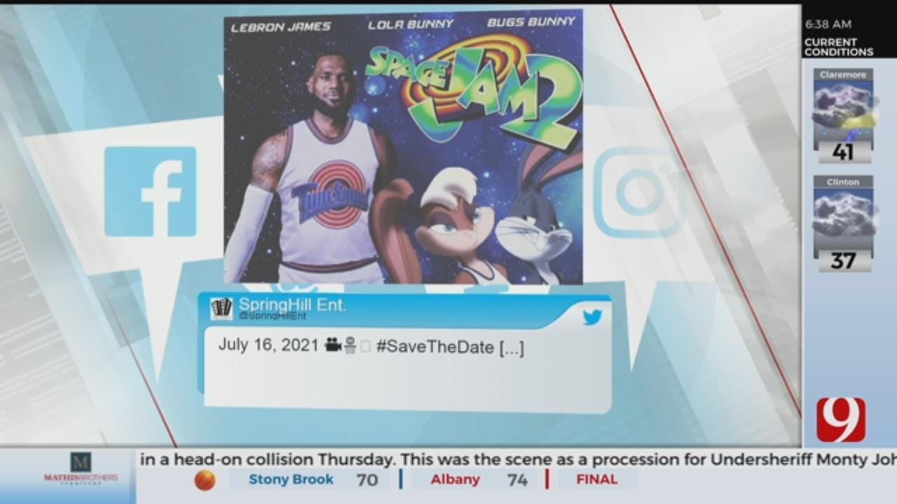 Space Jam 2 Release Date Announced