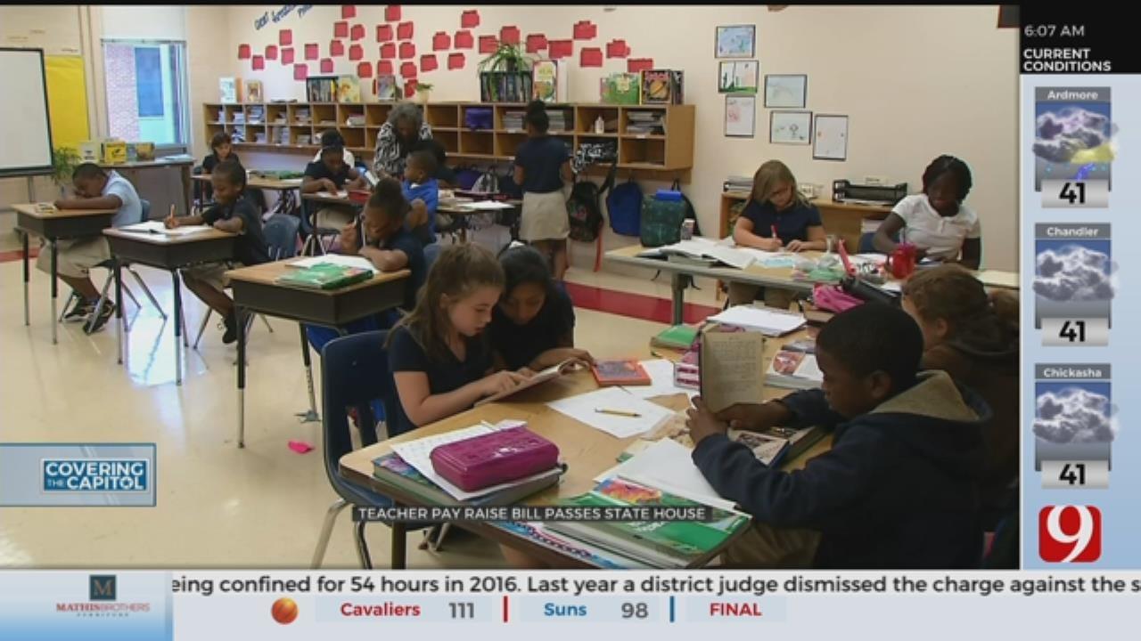 Teacher Pay Raise Bill Passes State House