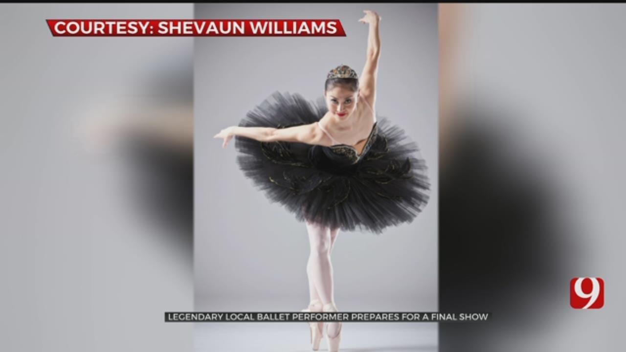 Legendary Oklahoma Ballet Performer Prepares For Final Show