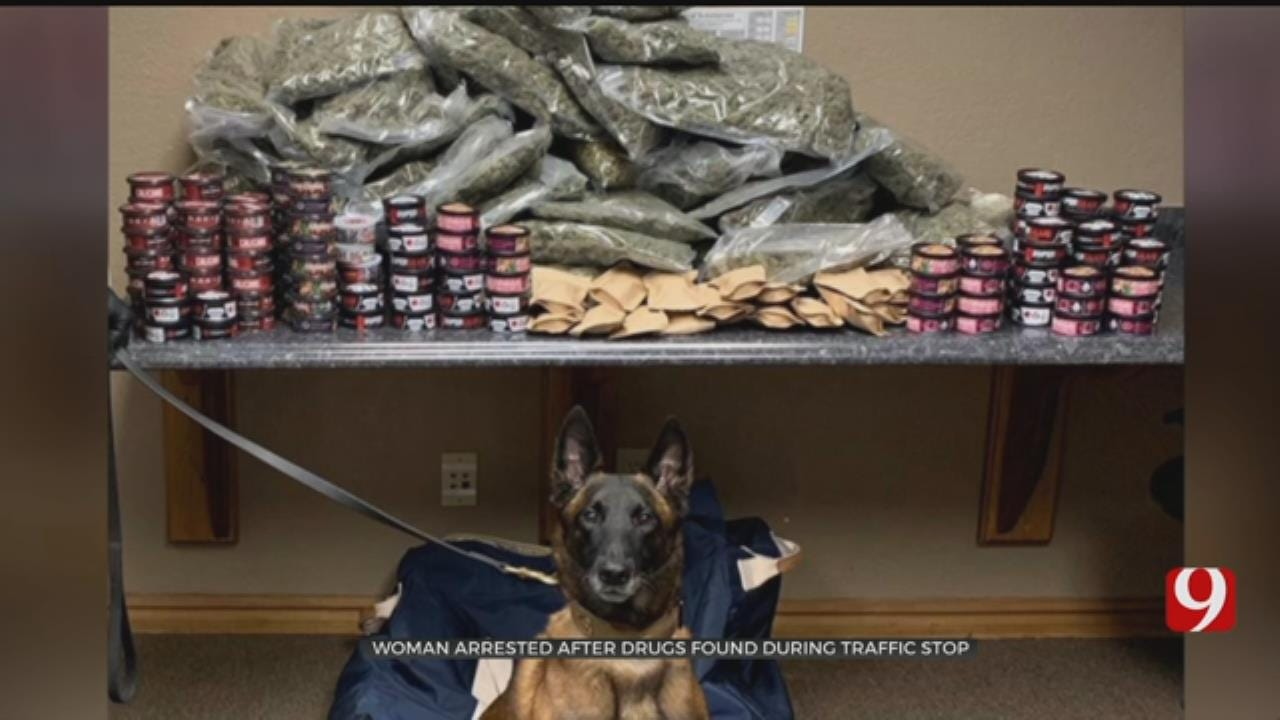 $70,000 Drug Bust Made On I-40 In Canadian County