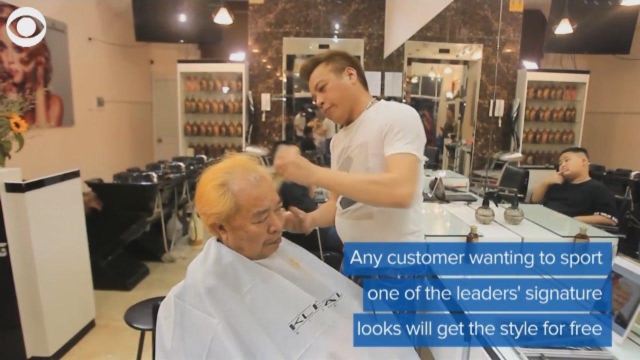 Salon Offering President Trump, Kim Jong Un Hairstyles