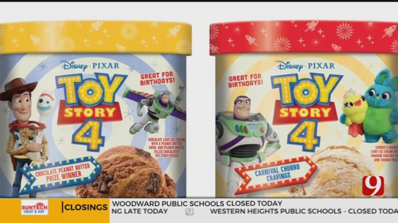 Edy's Ice Cream Releasing New Flavors For Toy Story 4