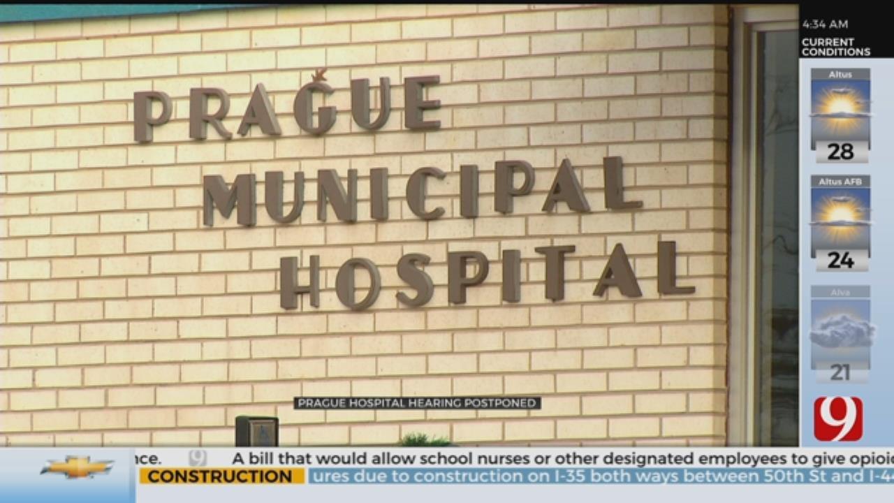 Prague Hospital Hearing Postponed