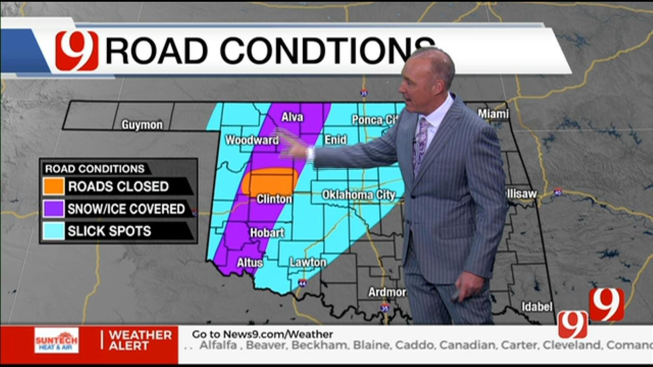 1:40 P.M. Winter Weather Update With David Payne