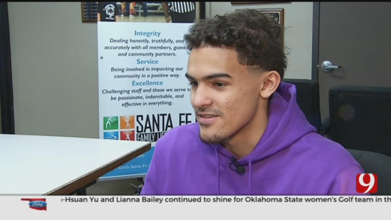 WATCH: Trae Young Talks Rookie Season With Dean Blevins
