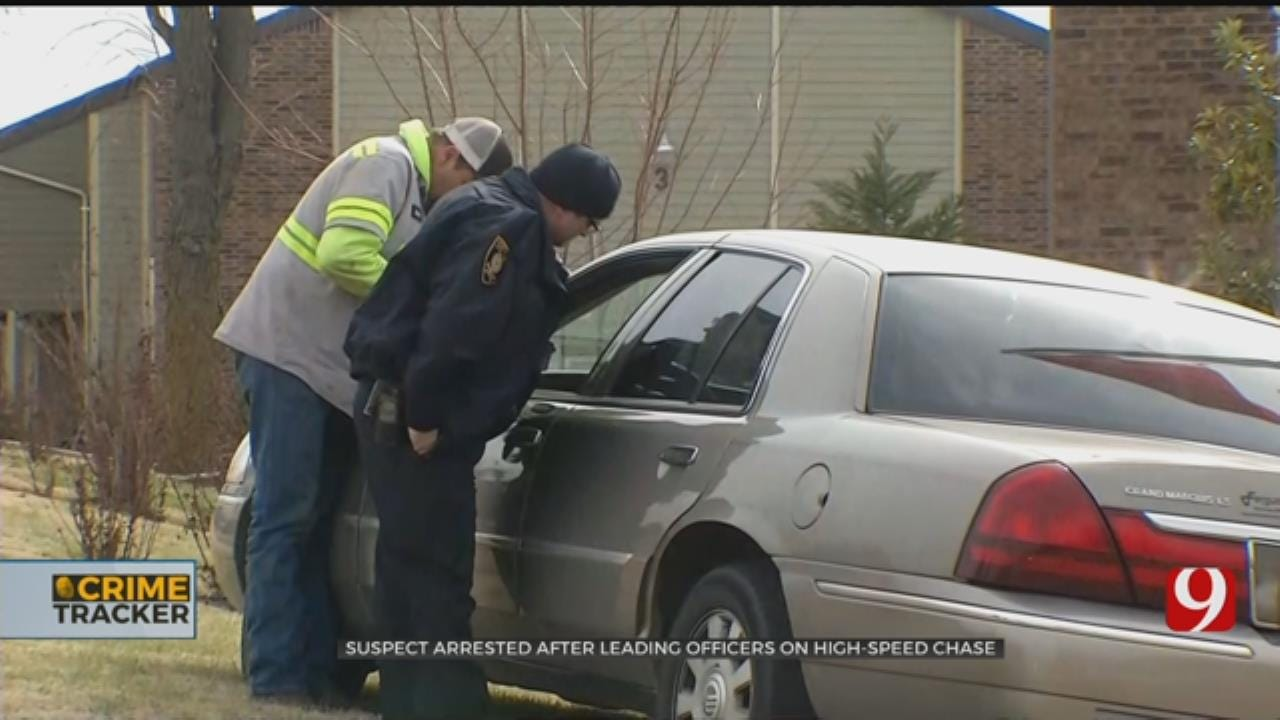 Suspect Arrested After Leading Officers On High-Speed Chase In Valley Brook, Norman