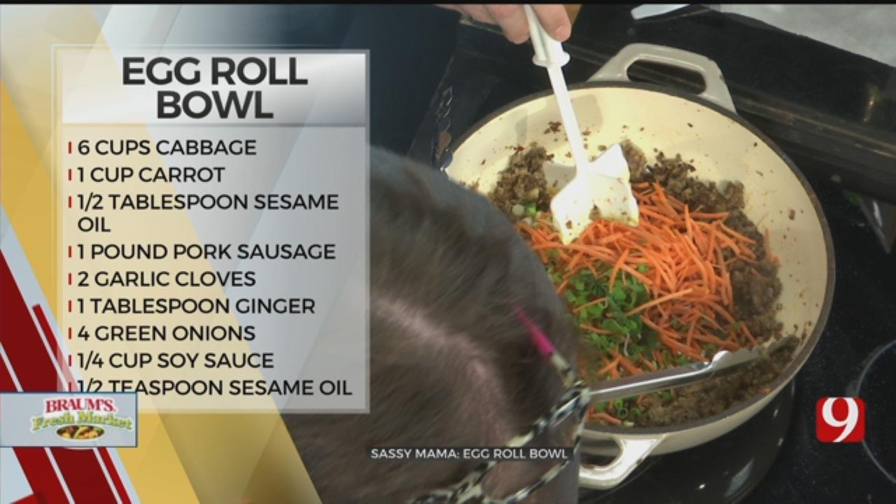 Sassy Mama: Egg Roll Bowl