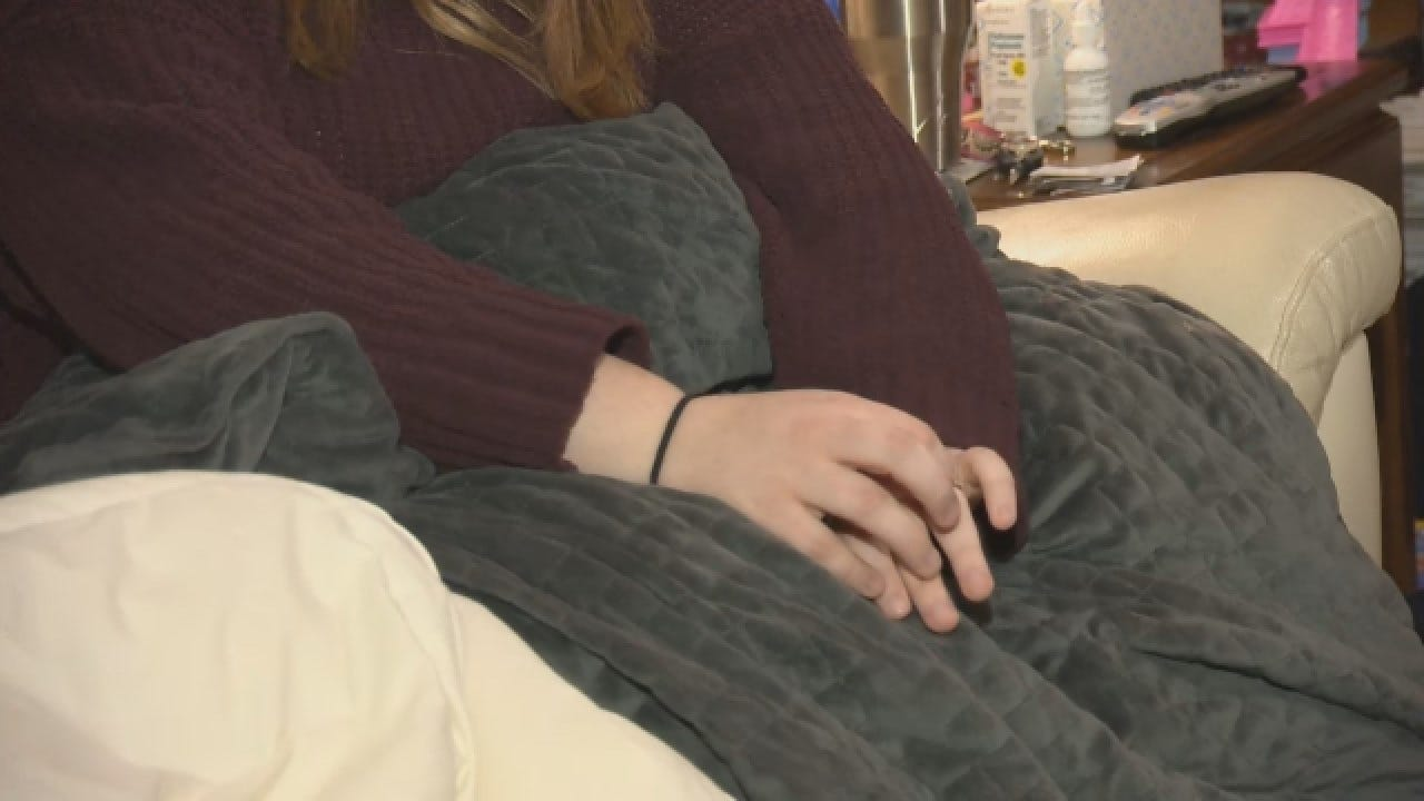 Weighted Blankets Claim To Reduce Stress
