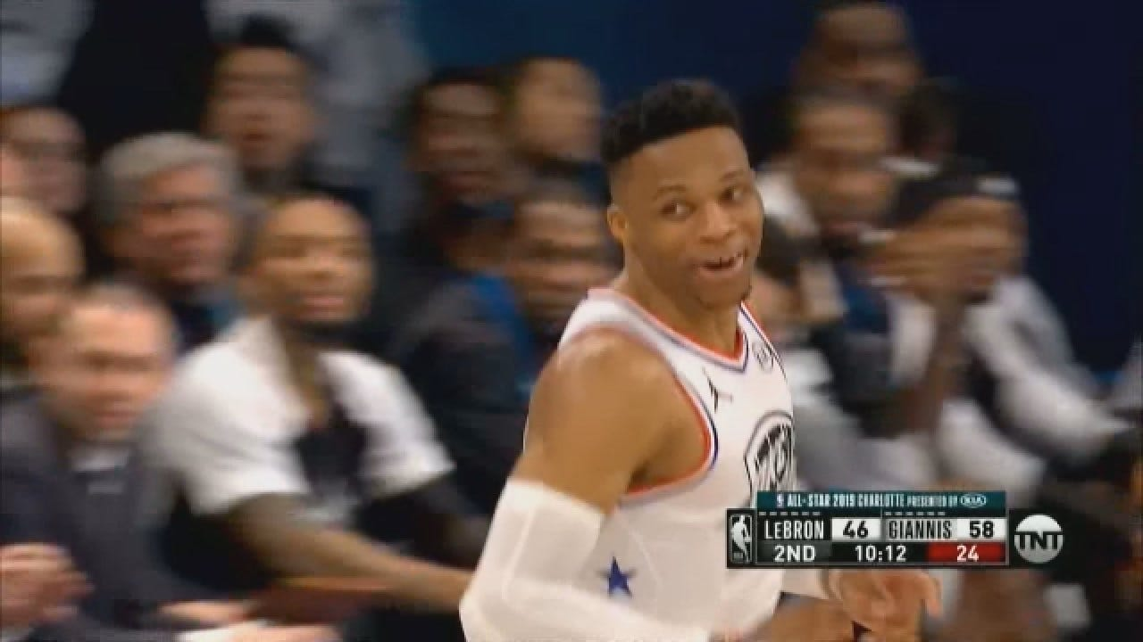 Westbrook and PG Play In NBA All-Star Game