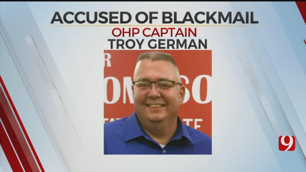 Oklahoma Highway Patrol Captain Accused Of Attempted Blackmail