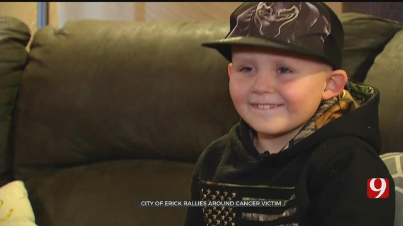 Community Comes Together For 8-Year-Old Beckham County Boy With Brain Cancer