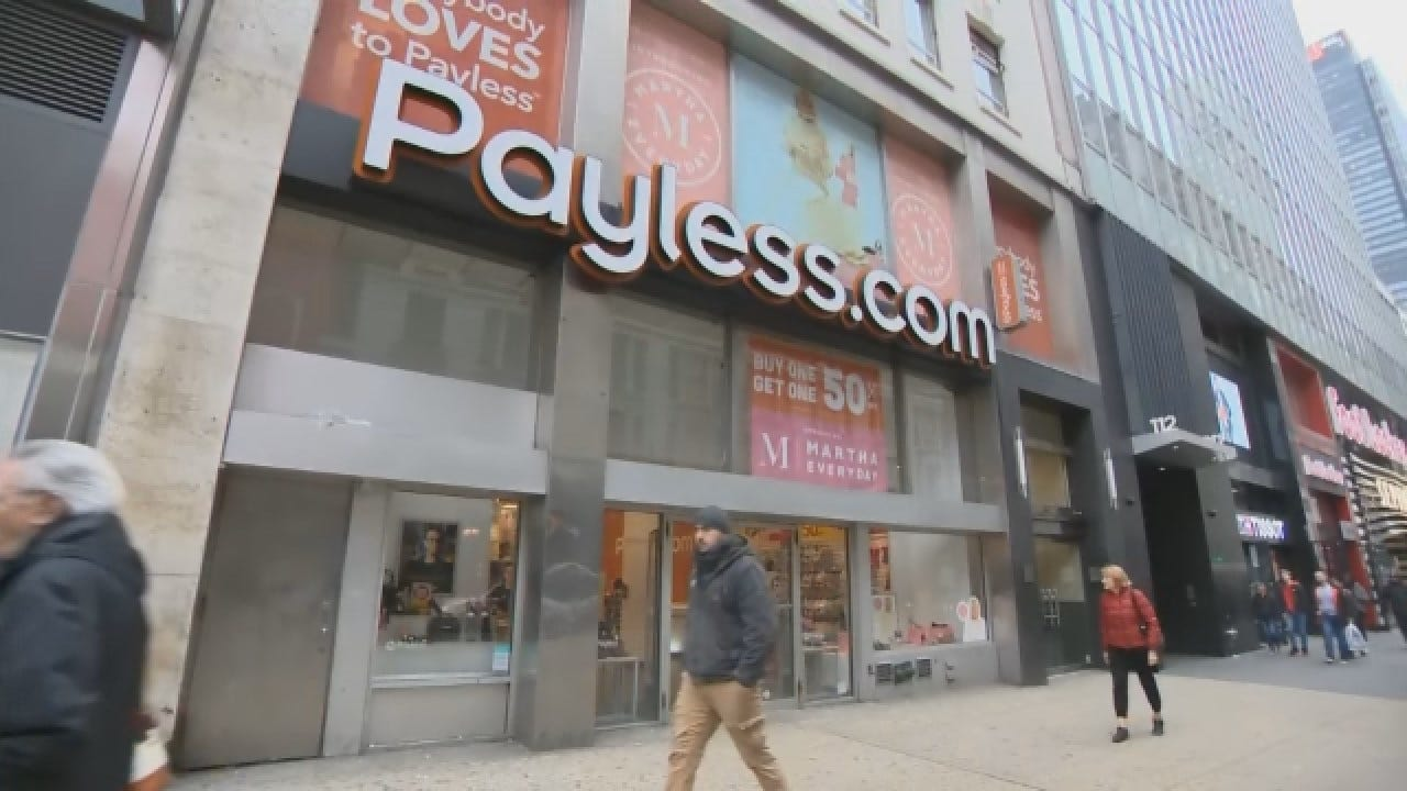 Payless Expected To Close Thousands Of Stores