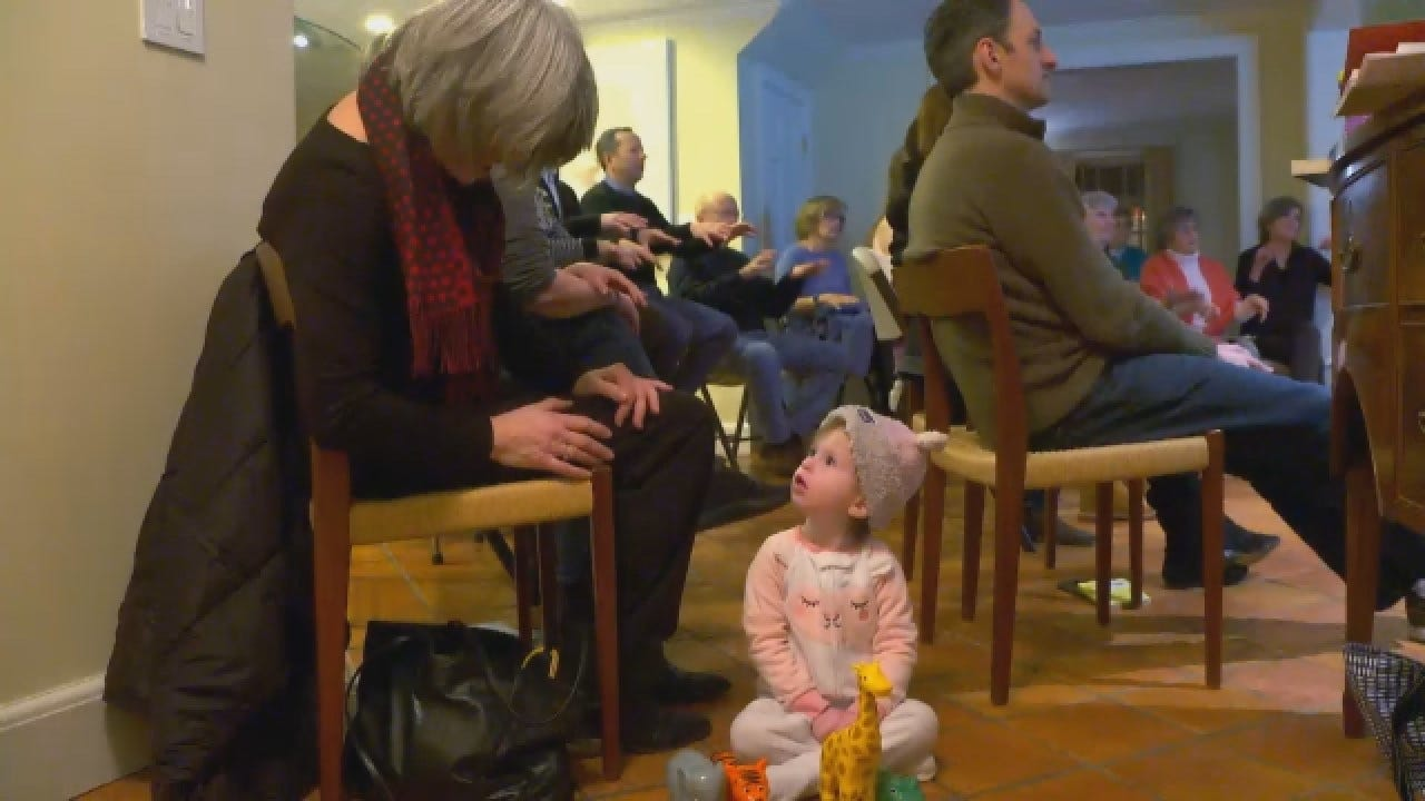 Neighbors Learn Sign Language For 2-Year-Old Girl
