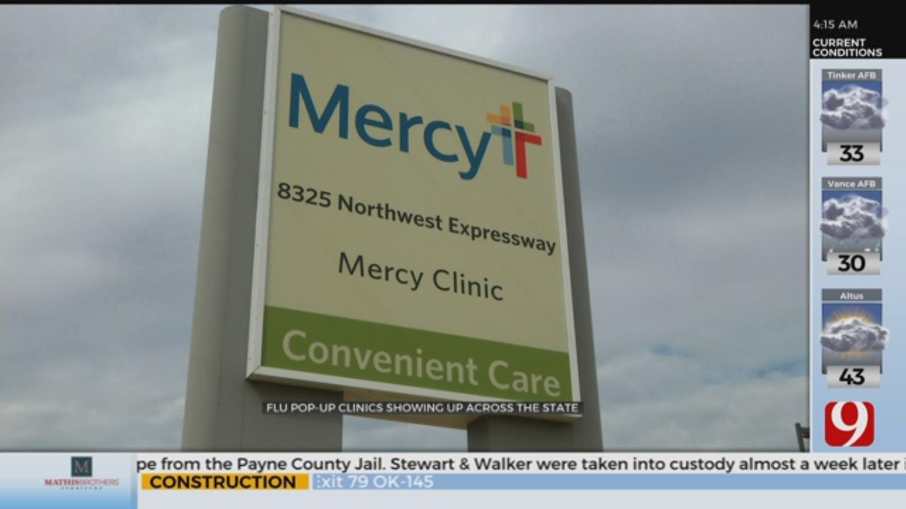 Flu Pop-Up Clinics Open Up Across The State